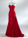 Red Sweetheart Fit and Flare A-line Formal Prom Evening Dress HA2011B