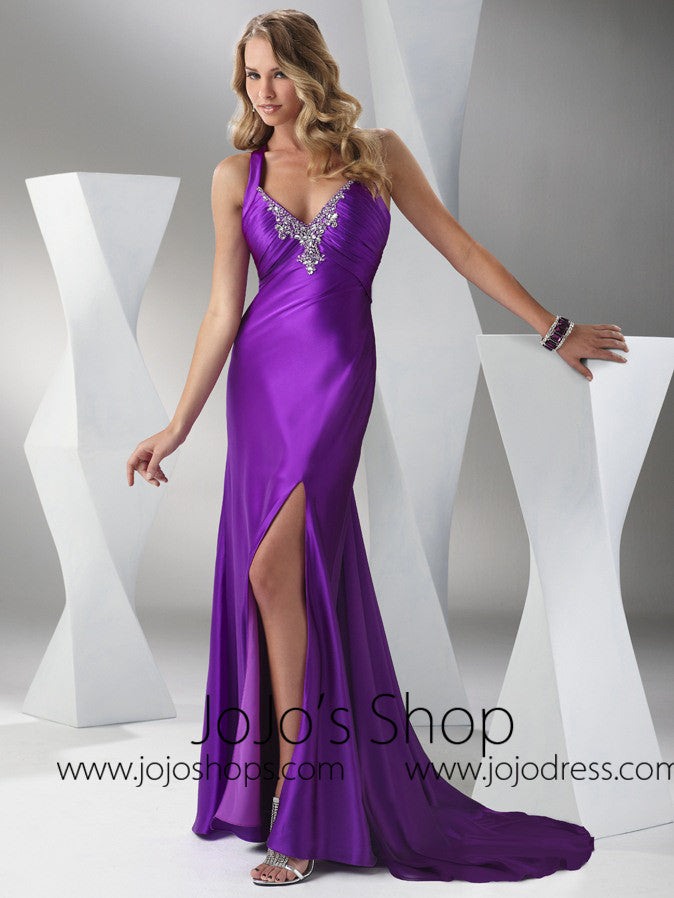 Purple Formal Black Tie Military Ball Gown Hb2024c Jojo Shop