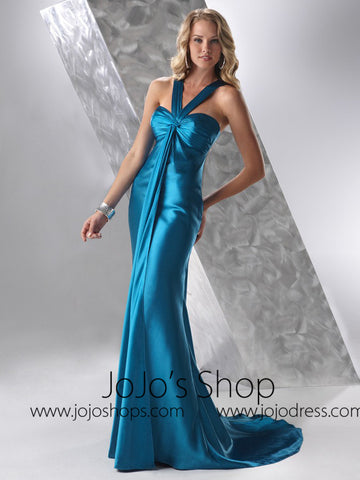Blue Formal Graduation Home Coming Dress HB2026C