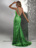 Hot Sexy Green One Shoulder Prom Formal Dress HB2033C