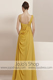 Gold Regency Empire Grecian Goddess Prom Evening Cocktail Dress CX830163