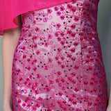 Hot Pink Formal Prom Evening Dress DQ830957