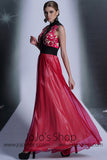 Red And Black Formal Prom Evening Dress DQ830960