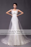 Vintage A-line Mermaid Lace Wedding Dress | G2013