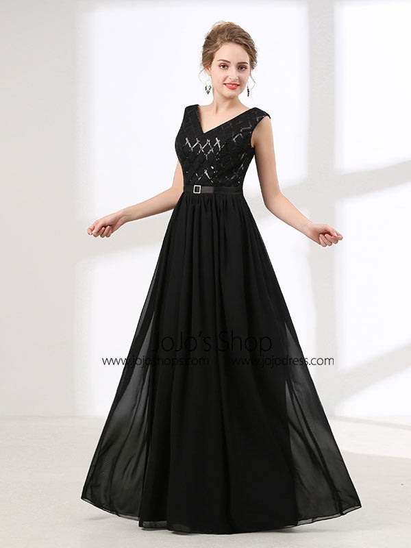 Long Black Evening Gowns
