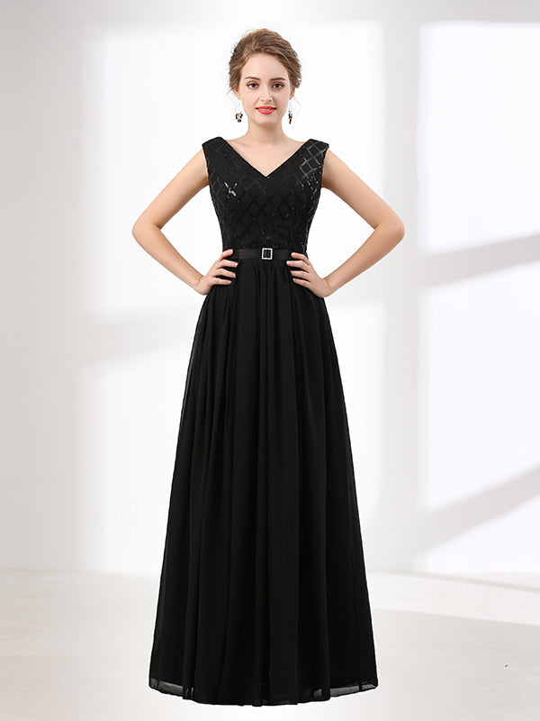 Black Formal Evening Dresses