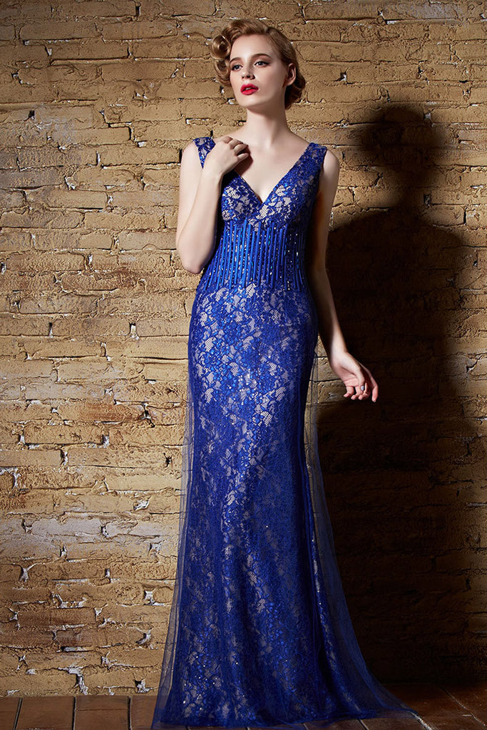 A Line Prom Dress with Straps Hollywood Style
