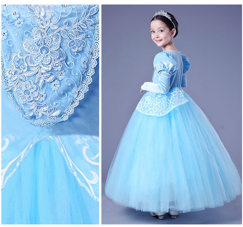 Children Cinderella Princess Costume Dress