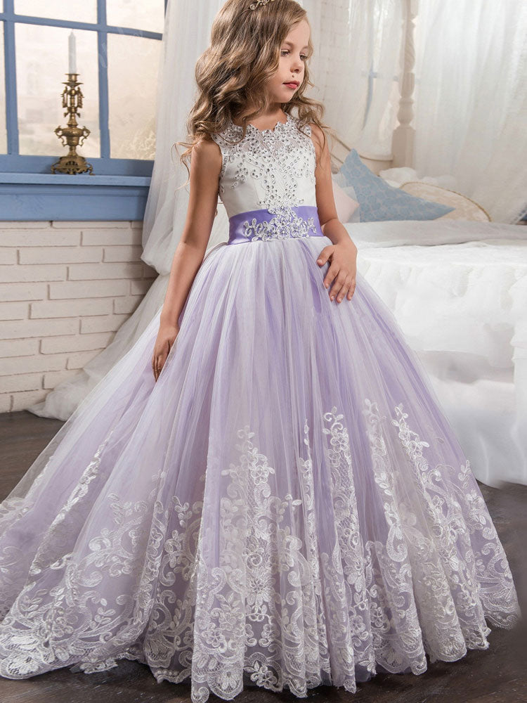 6f949c14534a Girls Princess Ball Gown Party Dress Birthday Dress – JoJo Shop