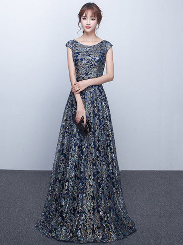 Elegant Long Formal Evening Dress