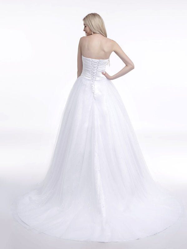 Strapless Dress with Sweetheart Neckline