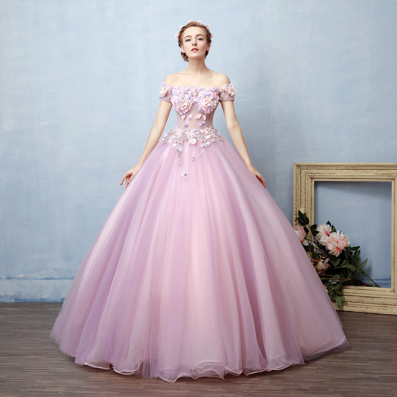 Light Purple Ball Gown Prom Evening Dress X2011