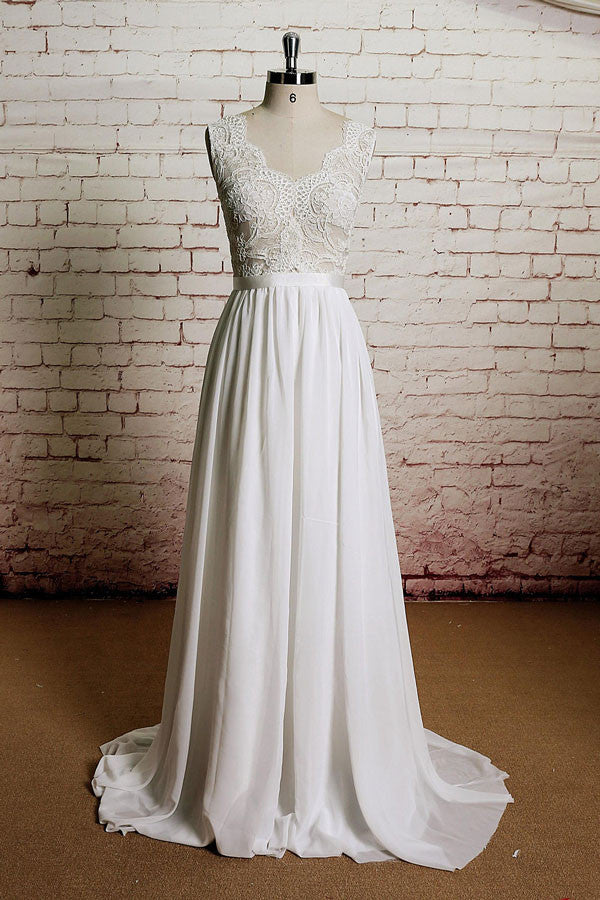 Vintage Inspired French Lace Wedding Dress – JoJo Shop