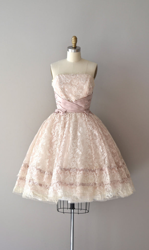 Strapless Lace Princess Formal Dress