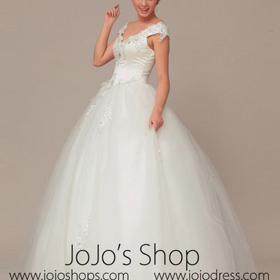 Princess Debutante Sweet Sixteen Ball Gown Wedding Dress VW1028