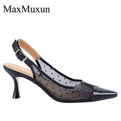 Womens Pointed Toe Ankle Strap High Heel Stilleto Dress Pumps Shoes