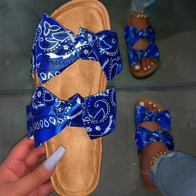 Women's Bowknot Slide Sandals