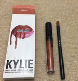 2018 hot new KYLIE matte lipstick+lips pencil makeup lasting waterproof liquid lip gloss kilie lipstick kyliejenner lip