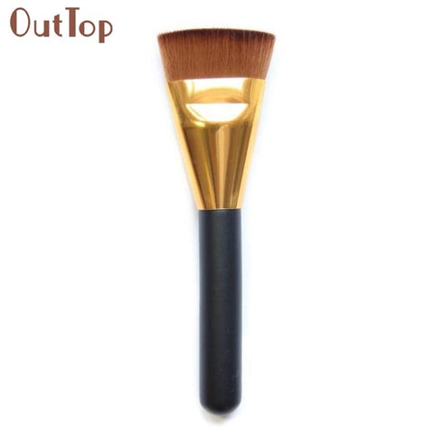 1pcs Professional Cosmetic Flat Contour Brush Face Blend Makeup Brush 0323B5Down