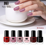 NEE JOLIE 3.5ml Nail Polish 66 Colors Fast Dry Shining Holographic Chameleon Nail Lacquid Summer Rose Gold Glitter Lacquer