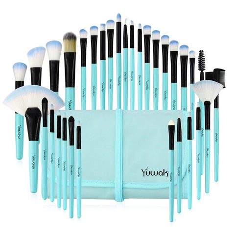 32Pcs Makeup brushes Sets With Bag Eye shadow Eyebrow highlighter Brush Kits Cosmetic Foundation brushes pincel maquiagem