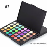 Fashion Eye Makeup 15 Color Matte Shimmer Pigment Nude Eyeshadow Palette Cosmetic Make up Set EARTH Tone Eye Shadow
