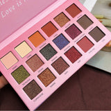 18 Color Beauty Glazed Professional Soft Glam Matte Eyeshadow Glitter Eye Shadow Palette Long Lasting Makeup Eyeshadow Pallete
