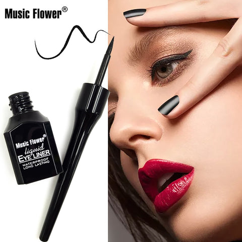 4 Style Choose 1 Pcs Black Long Lasting Eye Liner Pencil Waterproof Eyeliner Smudge-Proof Cosmetic Beauty Makeup Liquid