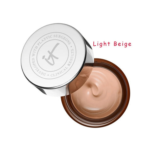 Concealer Cream Makeup It Cosmetics Full Coverage Redness Neutralizing Correcting Foundation Cream Transforming Neutral Beige