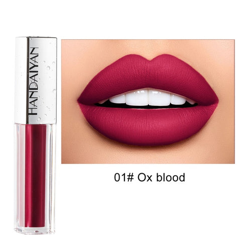 2019 Matt Lipstick Women Makeup Brand FOONBE Matte Lip Gloss Lips Make up Waterproof Liquid Lipstick Beauty Cosmetics TSLM1