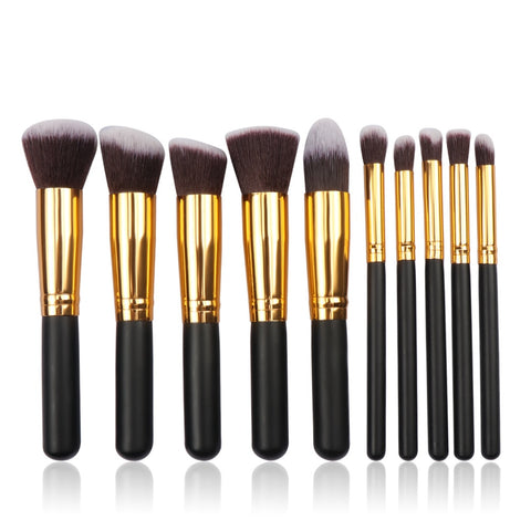 MB01 Popular Wooden Foundation Brush Eyebrow Eyeshadow Set Makeup brushes Brush Cosmetic Brush Tools