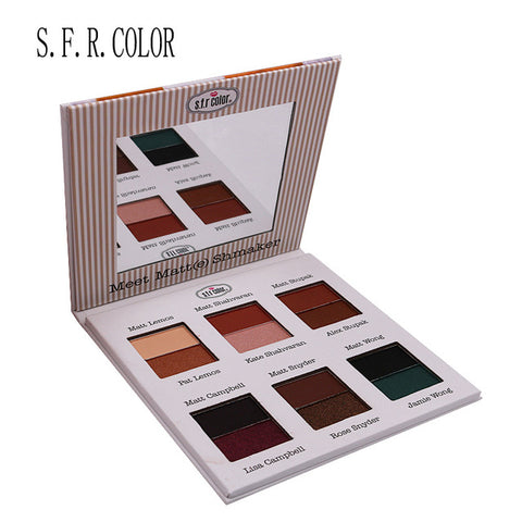 12 29 54 Colors Eye Shadow Matte Smoked Earth Color Makeup Waterproof Glitter shimmer Nude Eyeshadow Palette Cosmetics Makeup