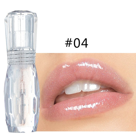 HANDAIYAN 2019 New Arrival Natural Waterproof Crystal Jelly Lipgloss Long lasting Moisturizing Lip Gloss Liquid Lipstick TSLM2