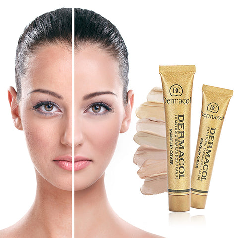 Full Skin Concealer Foundation Cream Face Professional Blemish Cover Dark Spot Tattoo Contour Makeup Liquid Concealer Cosmetic
