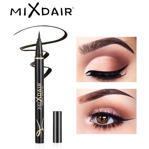 MIXDAIR Black Eyeliner Pencil Waterproof Long-lasting Liquid Eye Liner Pen Smudge-Proof Eyes Make Up Tool Maquiagem Profissional