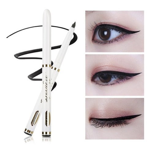 1Pc Professional Quick-dry Liquid Eyeliner Waterproof Natural Black Eyeliner Pencil Beauty Charming Makeup Eye Liner Pen TSLM2