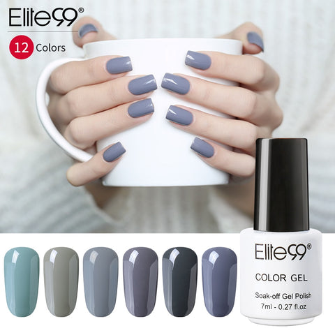 Elite99 Nail Gel Polish 7ML Hybrid Nail Art Semi Permanent gel varnishes Soak Off Top White Gel Lacquer Nail Art Lacquer Polish