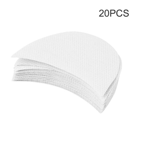 20pcs Professional Eyeshadow Pad Shields Under Eye Patches Disposable Eyelash Extensions Pads Protect Pad Eyes Lips Makeup Tool