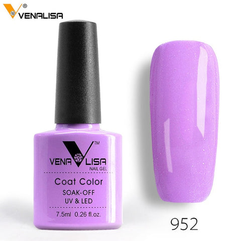 7.5ml VENALISA Nail Gel Polish High Quality Nail Art Salon 60 Colors Soak off UV LED Nail Gel Varnish Camouflage Color Lacquer