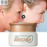 Korean Cosmetic Avocado Skin Care Face Lift Essence Tender Anti-Aging Whitening Wrinkle Removal Face Cream Hyaluronic Acid 35g