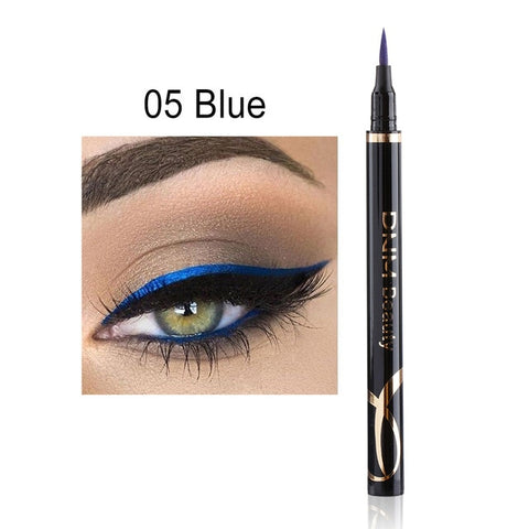 1pc New Super Fine Matte Eyeliner  Waterproof Liquid Long Lasting Eye Liner Pen Party Eye Cosmetic Tools