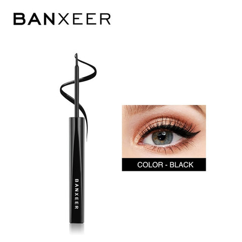 BANXEER Eyeliner Waterproof Liquid Eyeliner Make Up Beauty Cosmetic Long-lasting Eye Liner Pencil Makeup Tools For Women