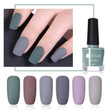 UR SUGAR 6ml Matte Nail Art Polish Pure Nail Color Nail Varnish Manicure Nail Art Lacquer Purple Grey 6 Colors Matte Effect