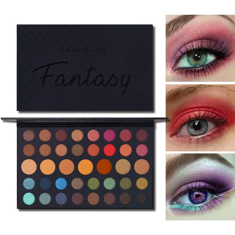 Professional Cosmetics eye shadow Palette Fantasy Matte Sudio makeup pallette Natutral Glitter Pigment eyeshadow James Charles