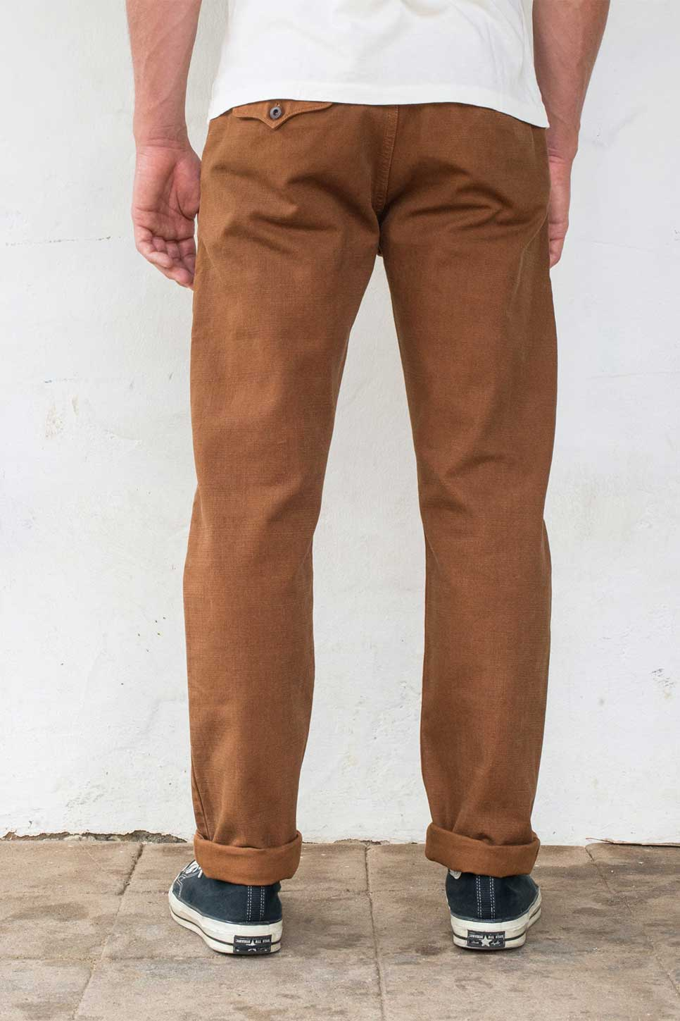 Freenote - Workers Chino 14oz - Rust - Back