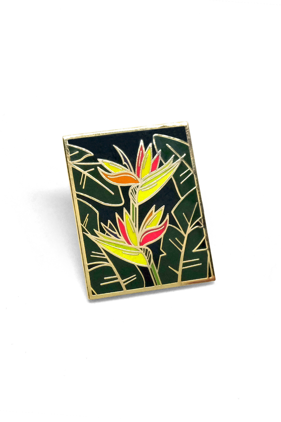 Lost Lust Supply - Birds of Paradise Pin - Front