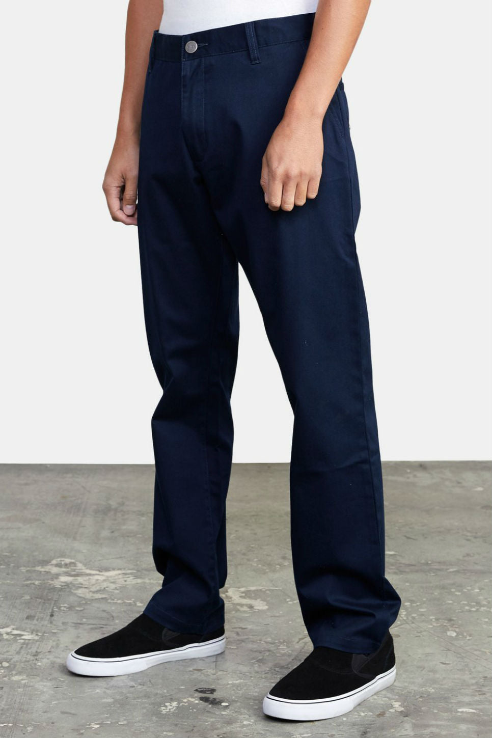 RVCA - The Weekend Stretch - Navy Marine - Side
