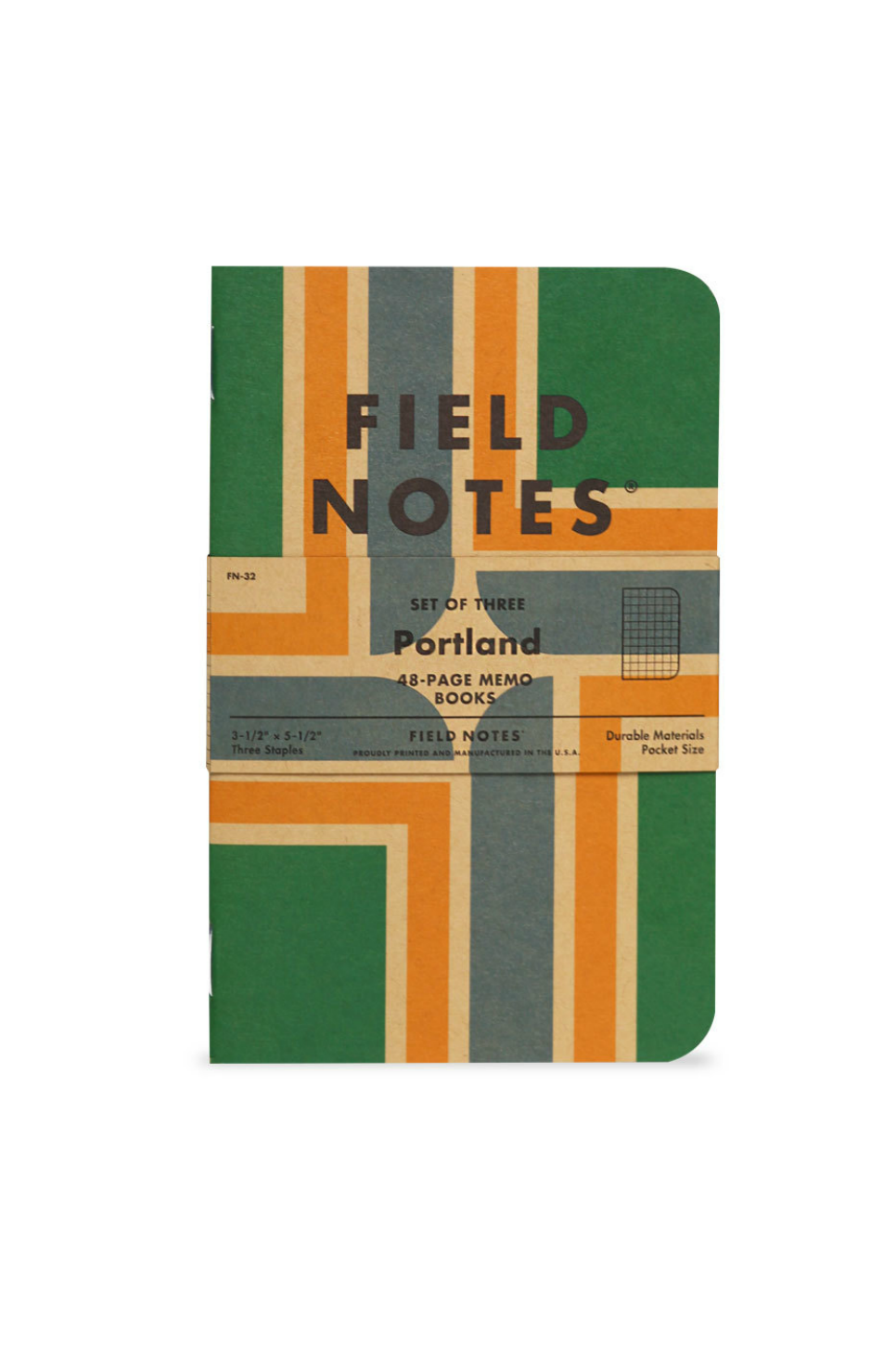 Field Notes - Portland 3 Pack