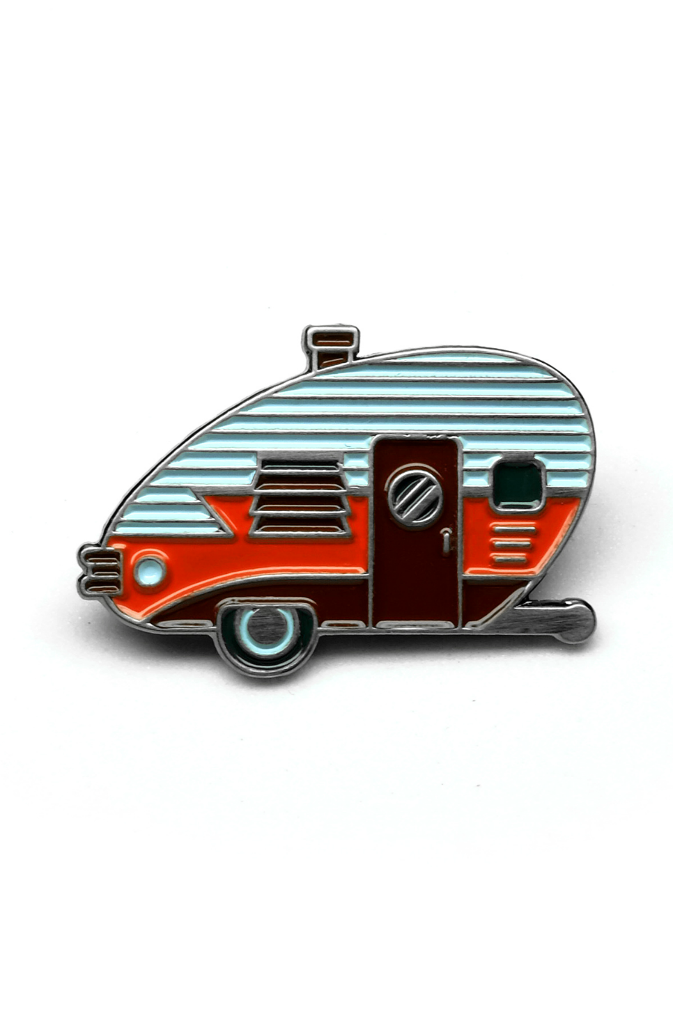 Lost Lust Supply - Red Camper Pin - Front