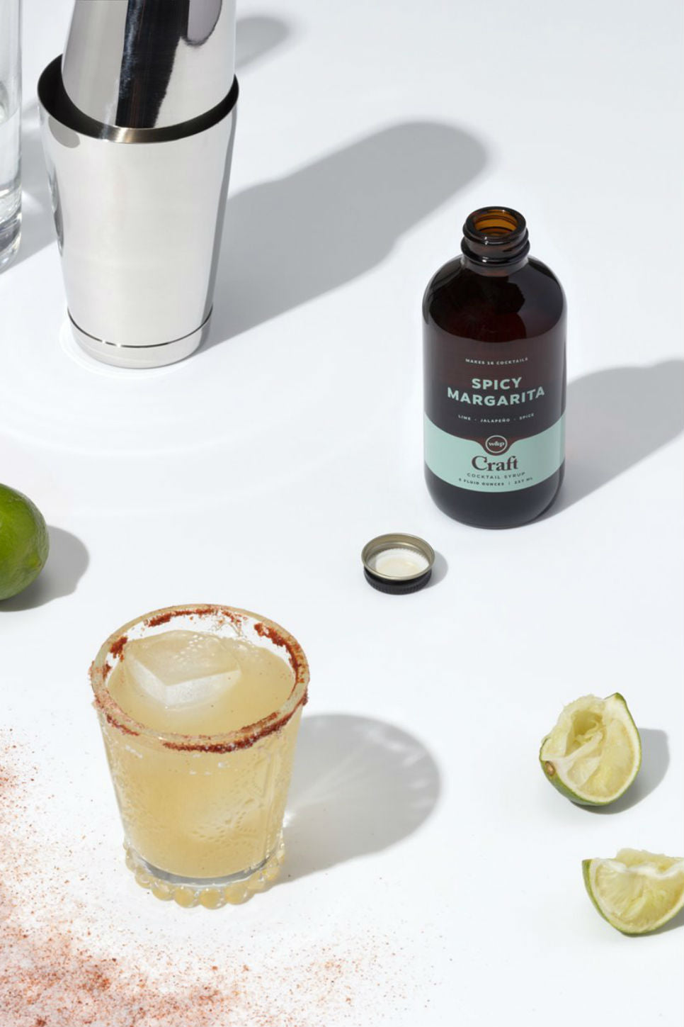 W&P - Cocktail Syrup - Spicy Margarita - Lifestyle